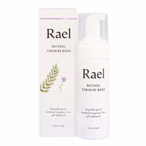 Rael Nettoyant Purifiant Féminin Naturel - 50ml - Pour Peau Sensible - Parfum Léger et Fraîcheur (Pack de 3)