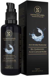 Sérum à l'acide hyaluronique concentré BIO 100 ml satin naturel