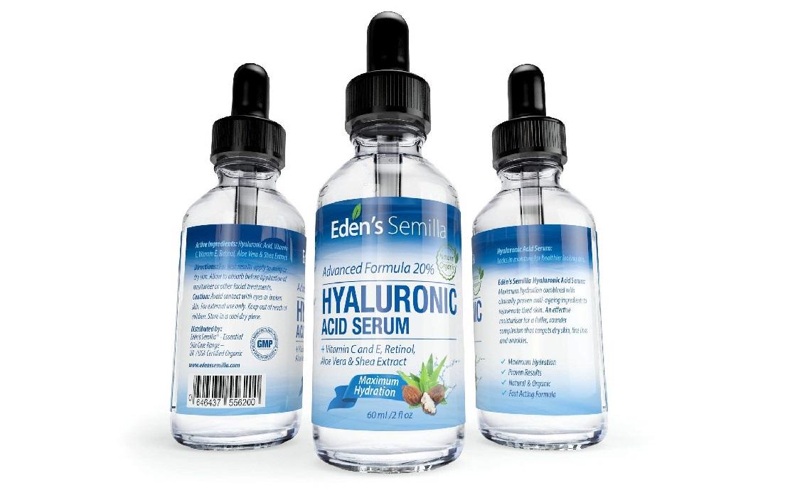 Sérum peau sèche à l'Acide Hyaluronique EDEN'S SEMILLA