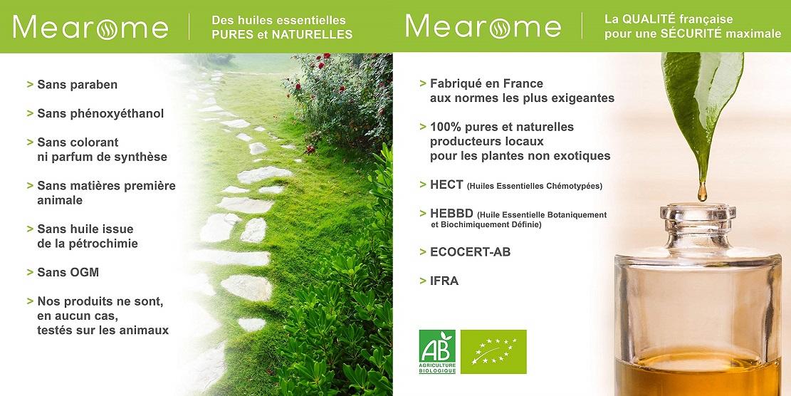 Sérum peaux sèches Bio MEAROME