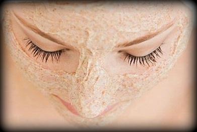 18. Masque à la farine d'avoine