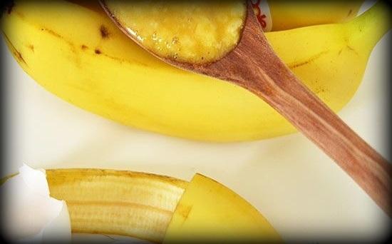 5. Masque banane