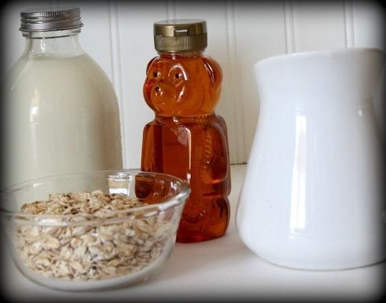 8. Masque à la farine d'avoine et au miel
