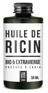 HUILE DE RICIN BIO 100% Pure et Naturelle. Pressée à Froid, Extra Vierge, Accélère la Pousse des Cheveux, Cils et Ongles. Nourrit et Hydrate la Peau et les cheveux. (50ml)