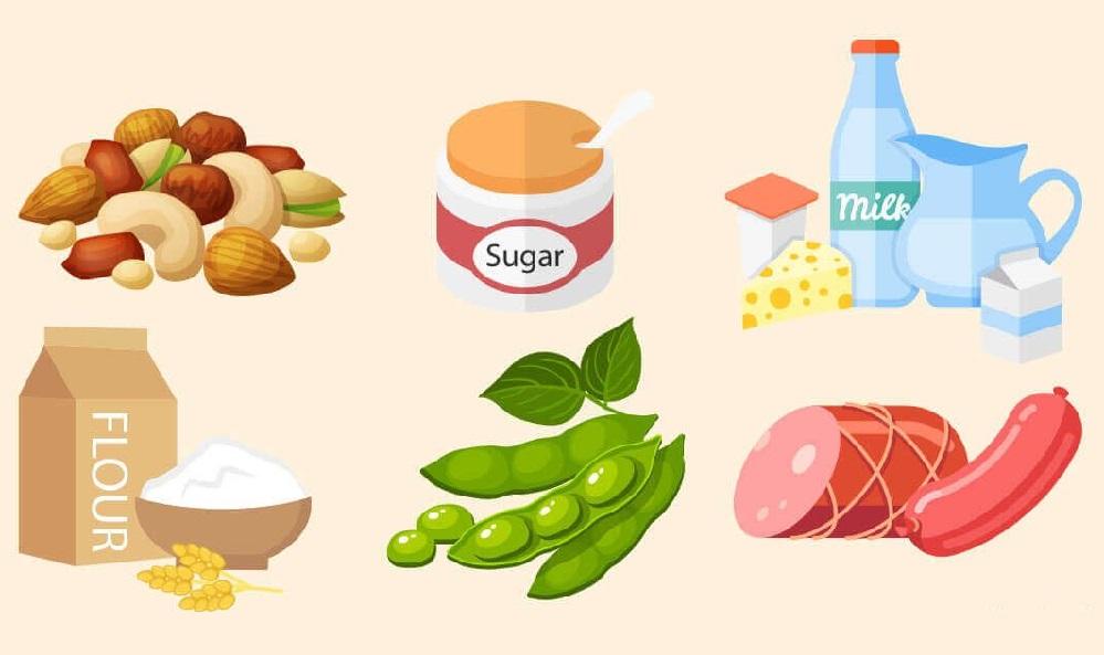 TOP 5 des aliments causant l'acné que vous devriez éviter