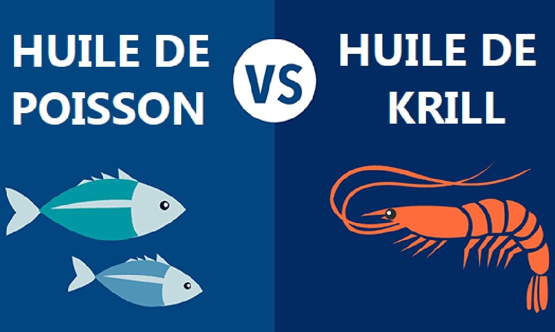 Huile de poisson vs. huile de krill : quelle est la différence ?