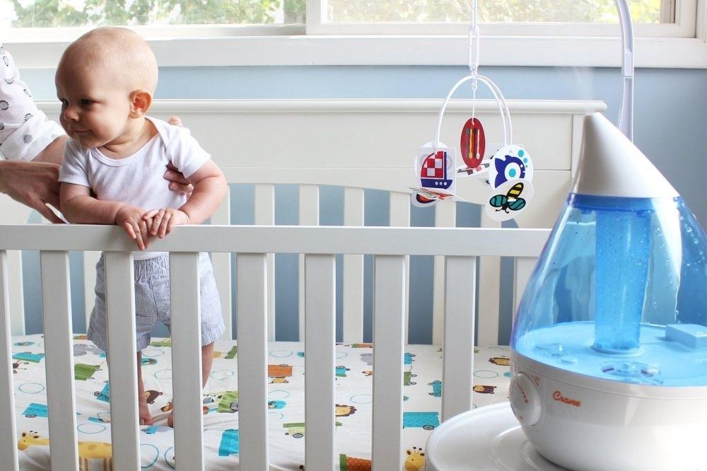 5 raisons d'installer un humidificateur dans la chambre de bébé