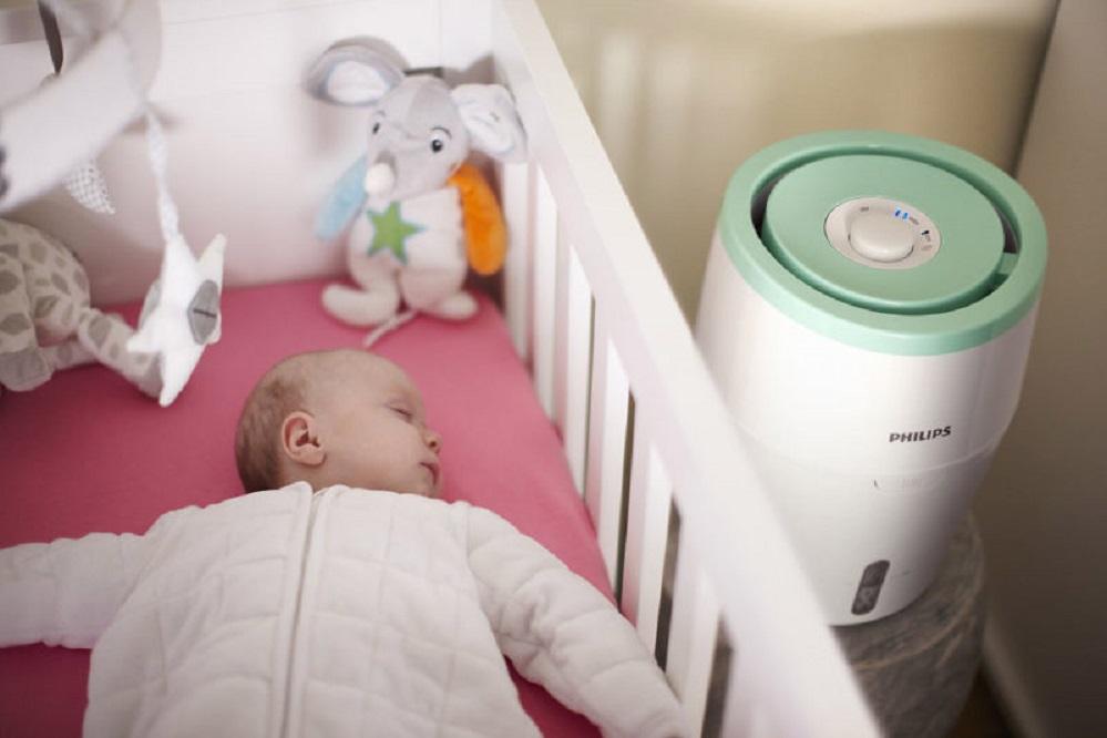 Bienfaits des humidificateurs pour les bébés