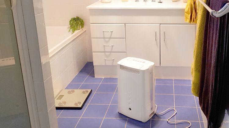 Les 5 meilleurs déshumidificateurs de salle de bain