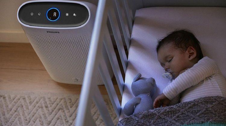 Quel type de purificateur d'air choisir pour une chambre de bébé ?